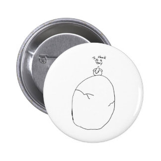 It's a boy pinback button