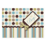 It's a Boy! Reminder Card Large Business Cards (Pack Of 100)