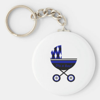 Its A Boy Stroller Key Chains