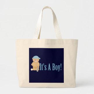 It's a Boy Teddy Bear Bags