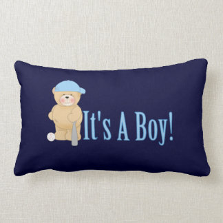 It's a Boy Teddy Bear Pillow