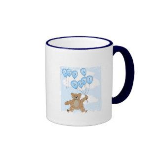 It's a boy Teddy Bear mug