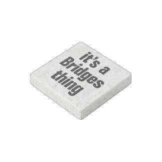 its a brady thing stone magnet