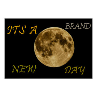 Its A Brand New Day Poster