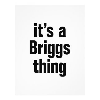 its a briggs thing 21.5 cm x 28 cm flyer