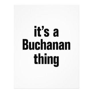 """its a buchanan thing 8.5"""" x 11"""" flyer"""