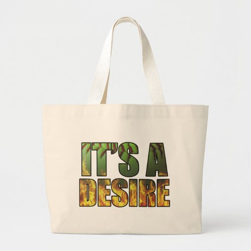 It's A Burning Desire Fastpitch Softball Tote Bags
