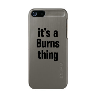 its a burns thing incipio feather® shine iPhone 5 case