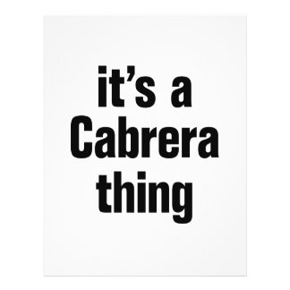 """its a cabrera thing 8.5"""" x 11"""" flyer"""