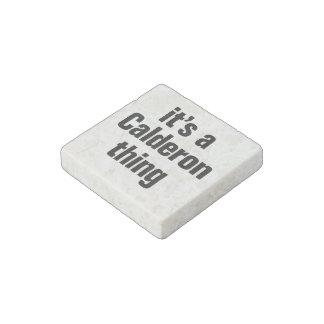 its a calderon thing stone magnet