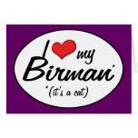 It's a Cat! I Love My Birman Cards