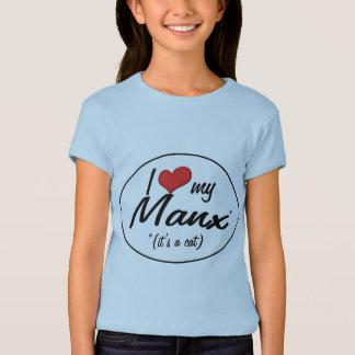 It's a Cat! I Love My Manx T-Shirt