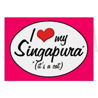 It's a Cat! I Love My Singapura Cards