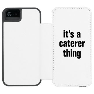 its a caterer thing incipio watson™ iPhone 5 wallet case