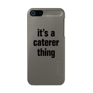its a caterer thing incipio feather® shine iPhone 5 case