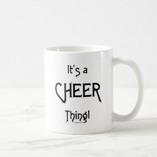 It's A Cheer Thing! Basic White Mug