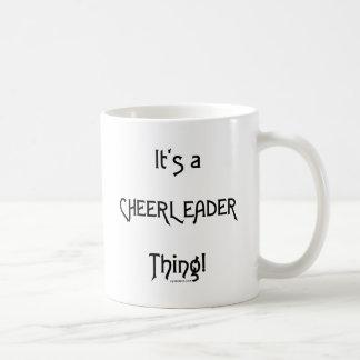 It's A Cheerleader Thing Basic White Mug