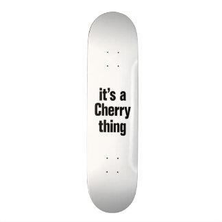 its a cherry thing 21.6 cm skateboard deck