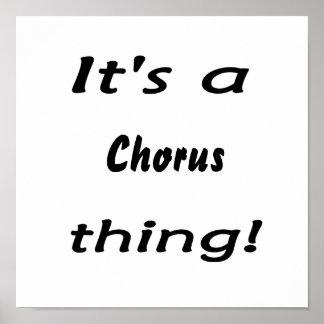 It's a chorus thing! print