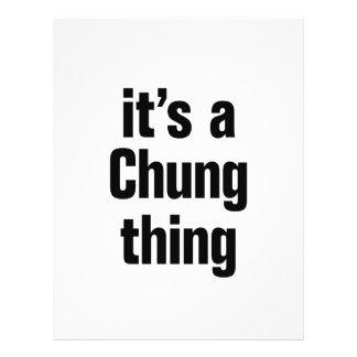 "its a chung thing 8.5"" x 11"" flyer"
