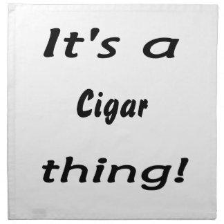 It's a cigar thing! printed napkins
