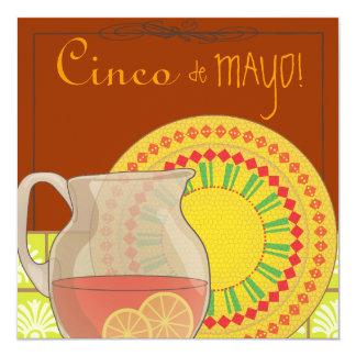 It's a Cinco de Mayo Party Fiesta Invitation