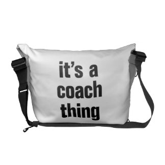 its a coach thing commuter bag