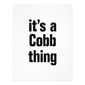 its a cobb thing 21.5 cm x 28 cm flyer