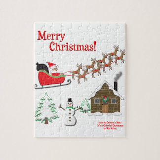 It's a Colorful Christmas! Jigsaw Puzzle