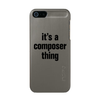 its a composer thing incipio feather® shine iPhone 5 case