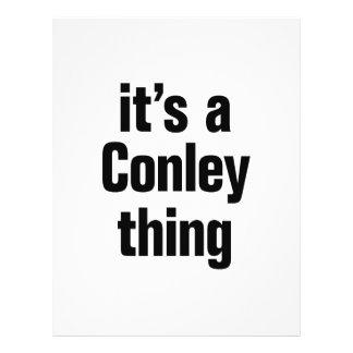 its a conley thing 21.5 cm x 28 cm flyer