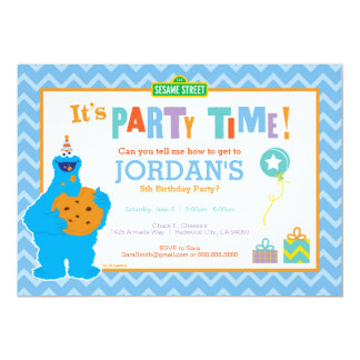 It's a Cookie Party 13 Cm X 18 Cm Invitation Card