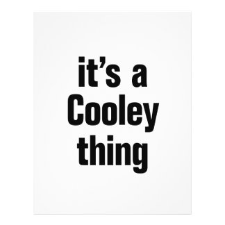 its a cooley thing 21.5 cm x 28 cm flyer