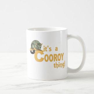 It's a Cooroy Thing Basic White Mug