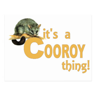 It's a Cooroy Thing Postcard