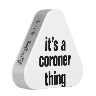 its a coroner thing bluetooth speaker