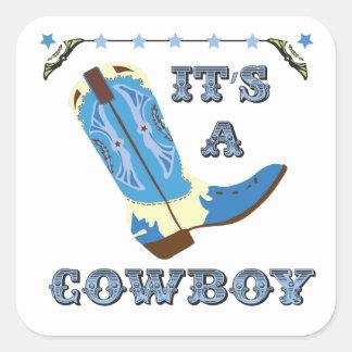 It's a cowboy sticker