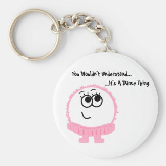It's A Dance Thing Weeble Keychain