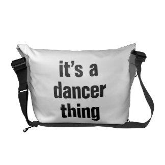 its a dancer thing messenger bag