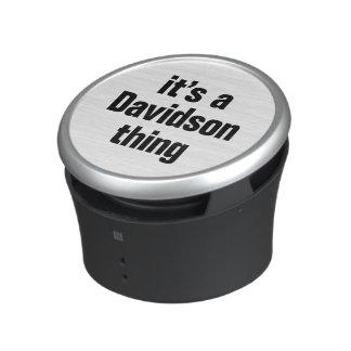 its a davidson thing speaker
