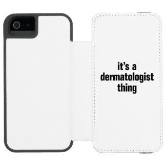 its a dermatologist incipio watson™ iPhone 5 wallet case