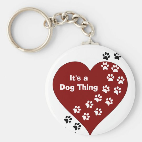 It's A Dog Thing Heart and Paw Print