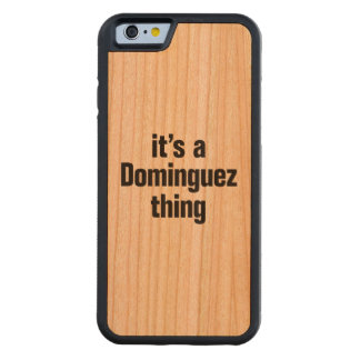 its a dominguez thing cherry iPhone 6 bumper