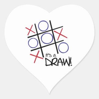 It's A Draw! Sticker