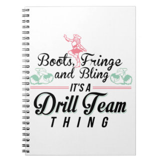 It's a Drill Team Thing Notebook