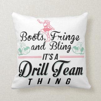 It's a Drill Team Thing Throw Cushion