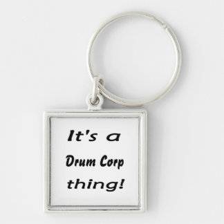 It's a drum corp thing! key ring