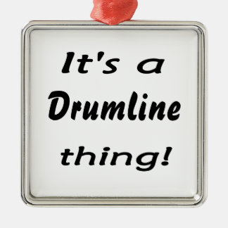 It's a drumline thing! christmas ornament