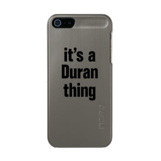 its a duran thing incipio feather® shine iPhone 5 case