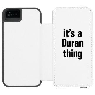 its a duran thing incipio watson™ iPhone 5 wallet case